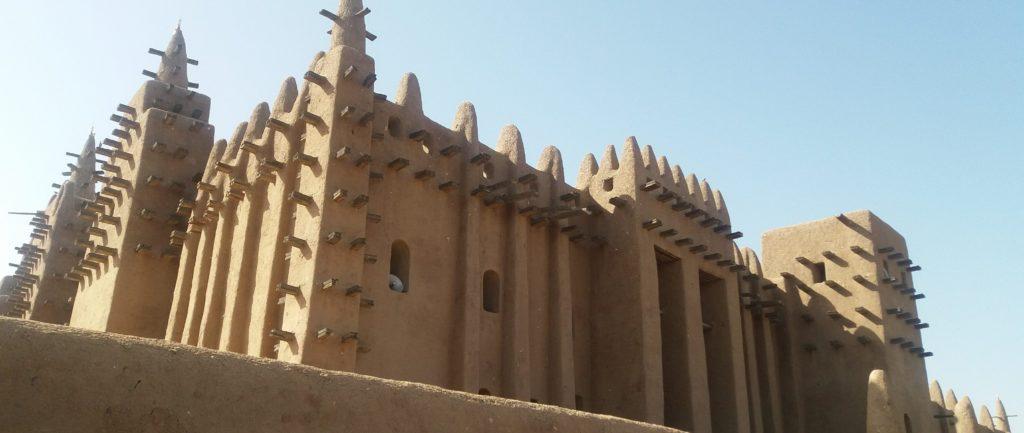 Djenne central Mosque